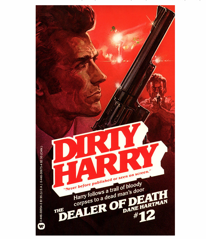 Dirty Harry book #12 book cover
