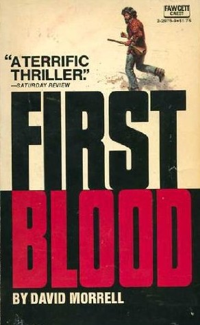 First Blood by David Morrell book cover